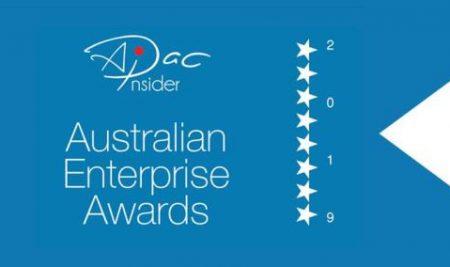 Winner 2019 Australian Enterprise Awards